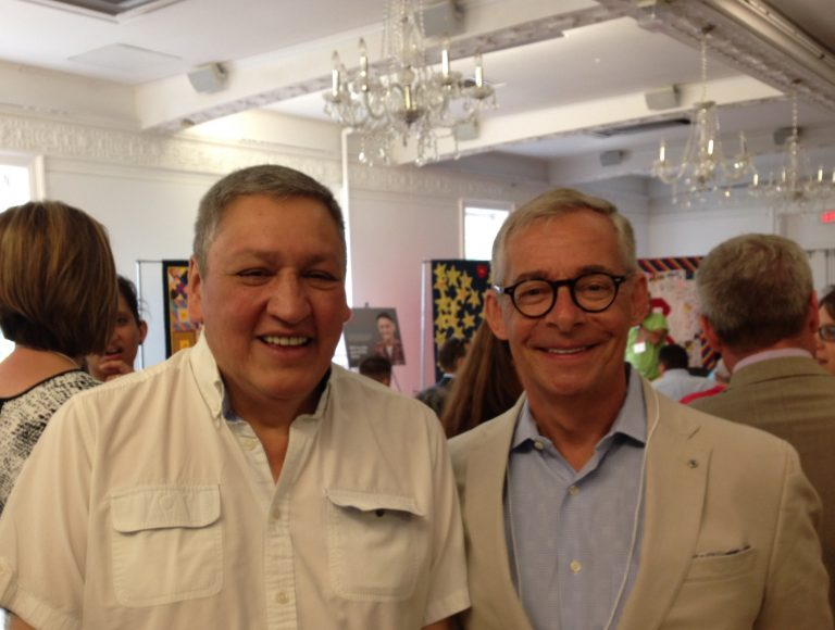 Casey Award Winner Art Zoccole, Brian Shackleton