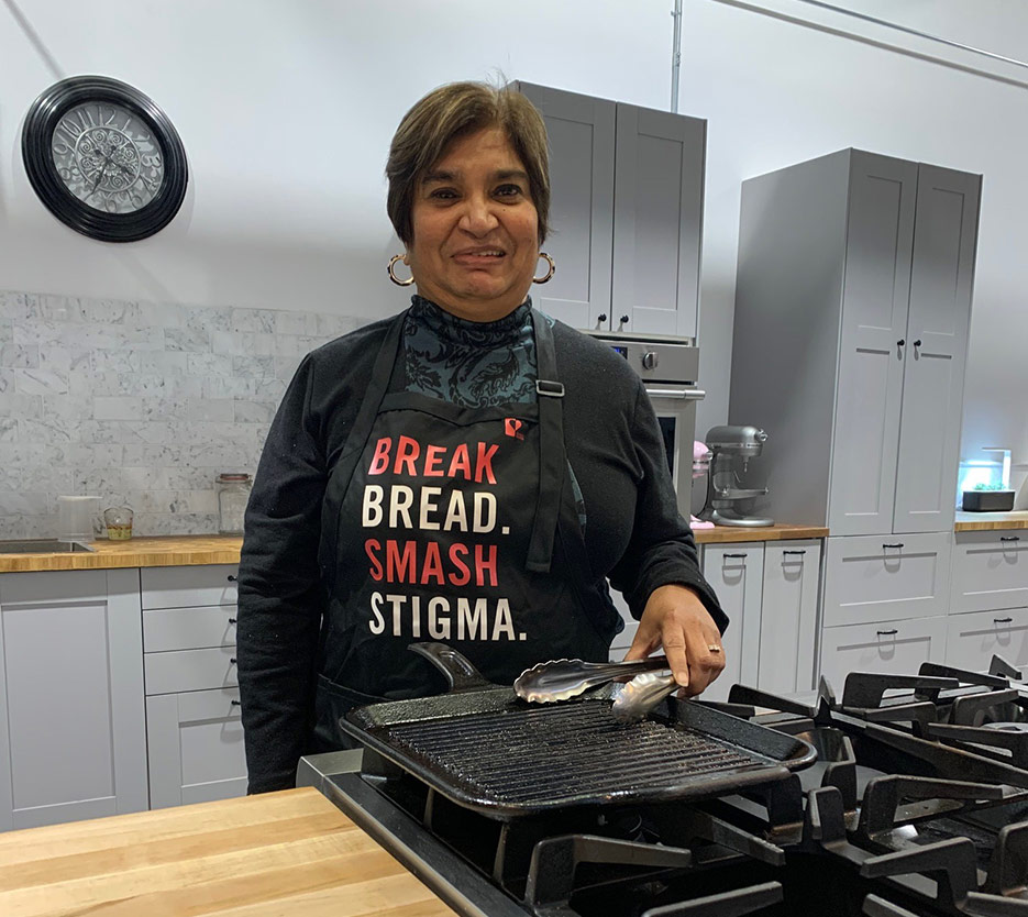 June's HIV+ Eatery Amutha Peer Chef