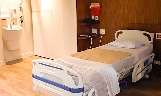 Private Room Inpatient Care