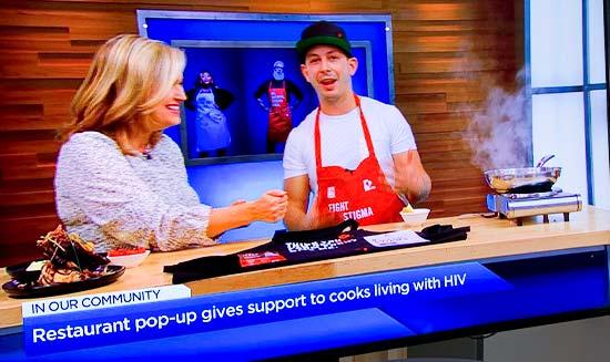 Casey House in Media HIV+ Eatery