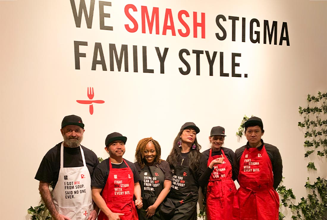 June's HIV+ Eatery Support Team