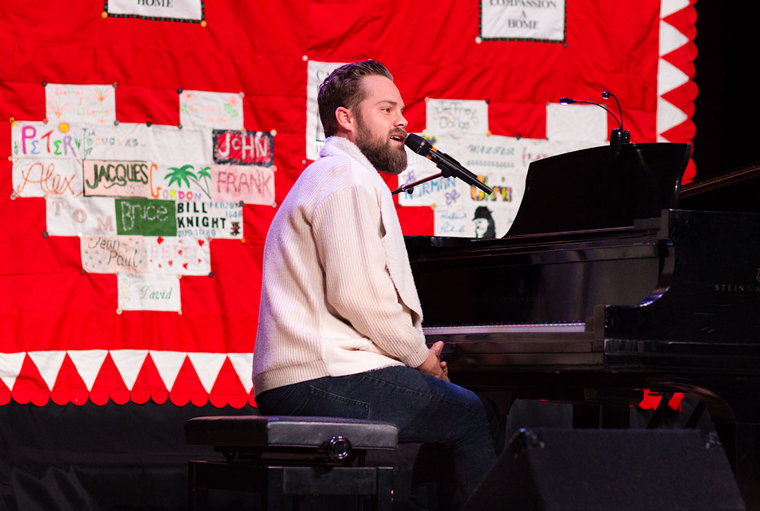 Voices for World AIDS Day Piano