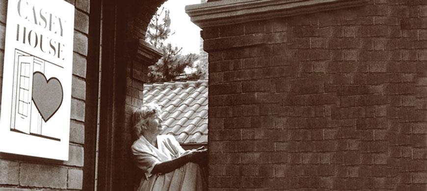 June Callwood Registering Casey House October 1986